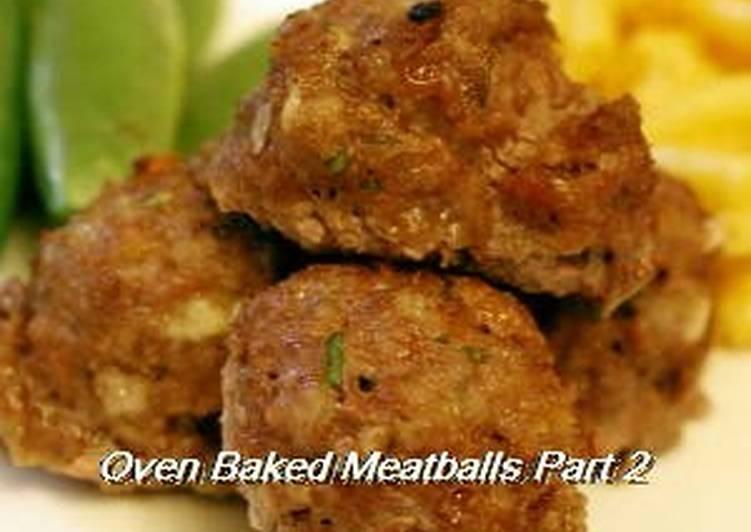 My Family's Go-To Meatball Recipe