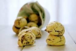 Preparazione di ricette Biscotti al torrone ricetta riciclo delizioso