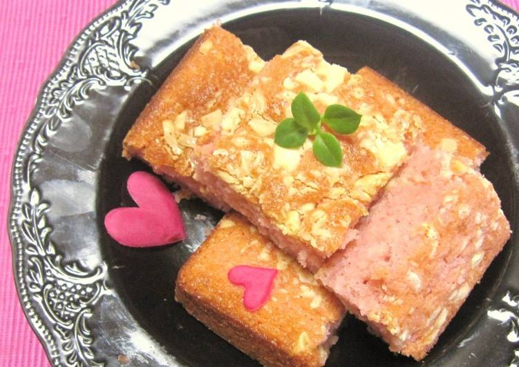 Valentine's Day Pink Brownies