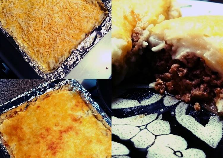 Mash potato pie