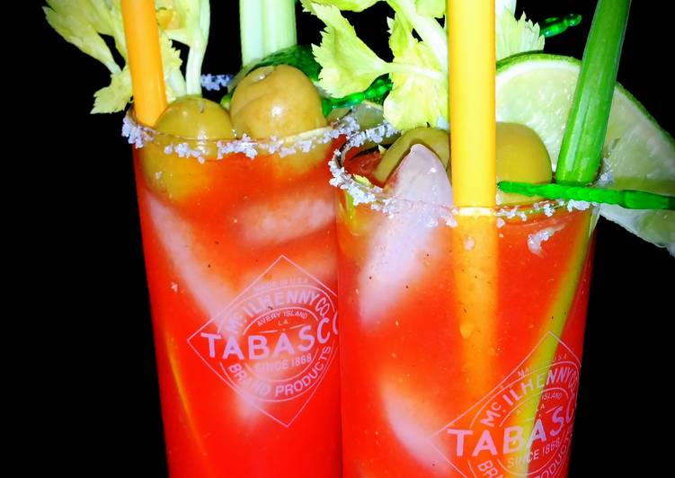 Mike's Perfect Bloody Caesars