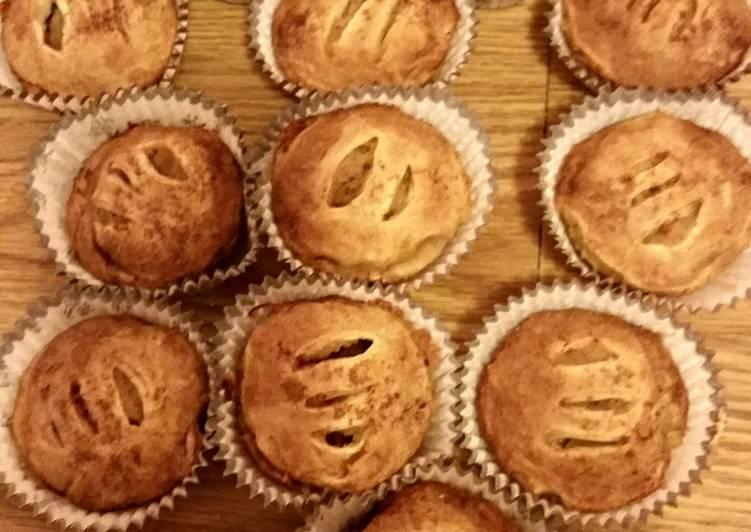 Minime apple pie muffins
