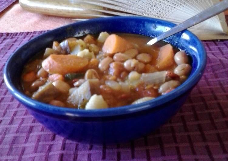 La Paz Road Bean Soup
