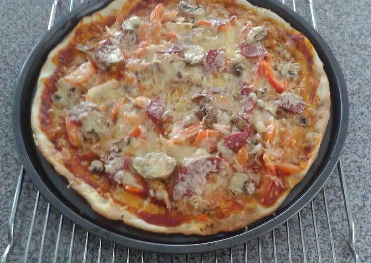 Dairy-free Pizza dough