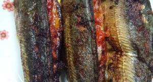 Ikan Cencaru Goreng Bercili