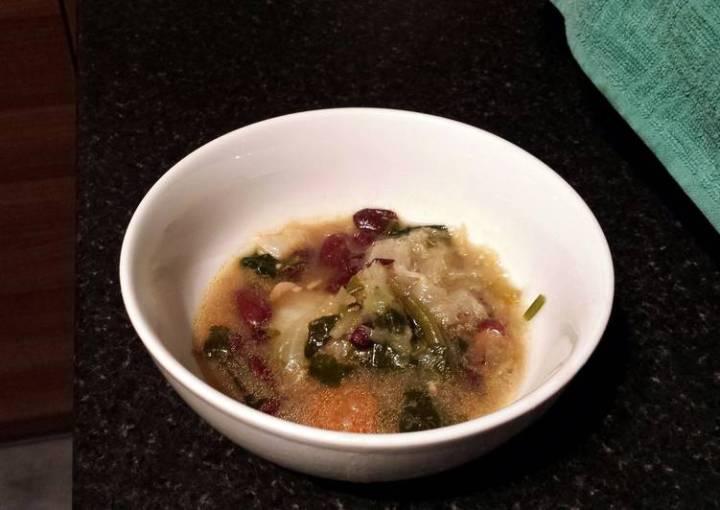Leftover Vegetable Soup