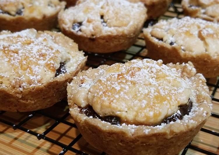 Easy Shortbread Mince Pies
