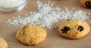 Coconut Raisin Cookies
