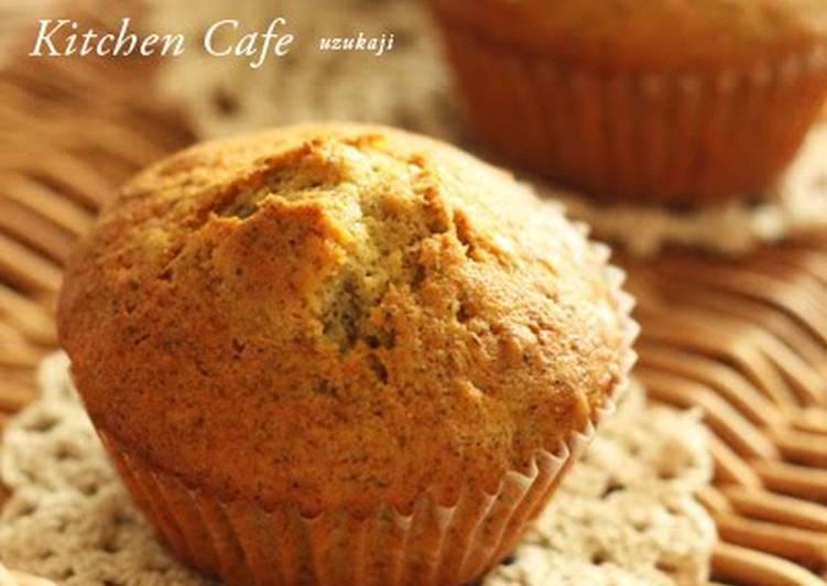 Yuzu Jam and Tea Muffins