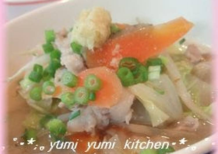 Our Family Recipe For Warming Tonjiru Pork Soup