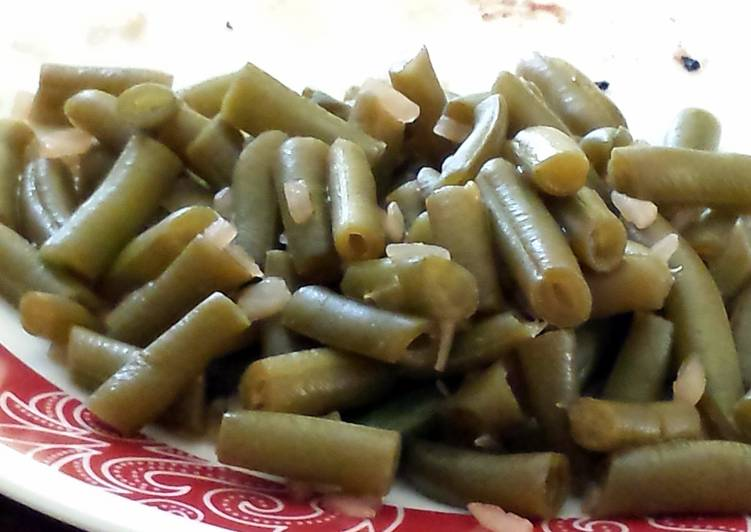 Wicked Green Beans