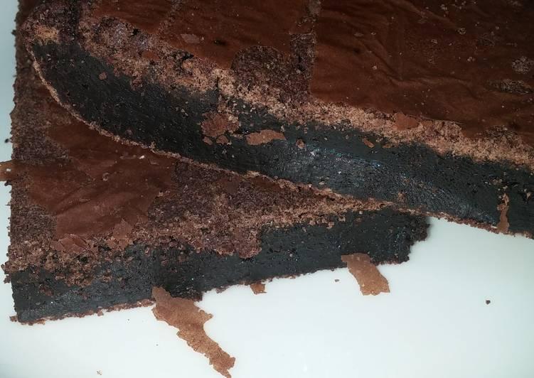Flourless fudge brownie gluten free