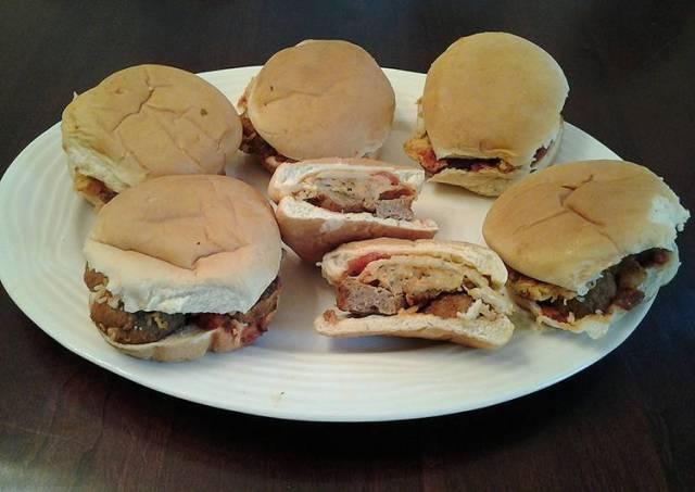 Meatball Parmesan Sandwiches