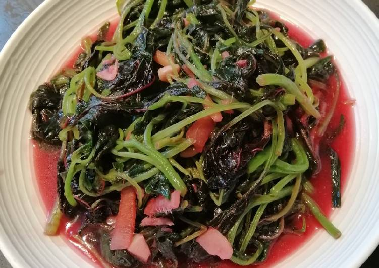 , Recipe: Appetizing Chinese Spinach