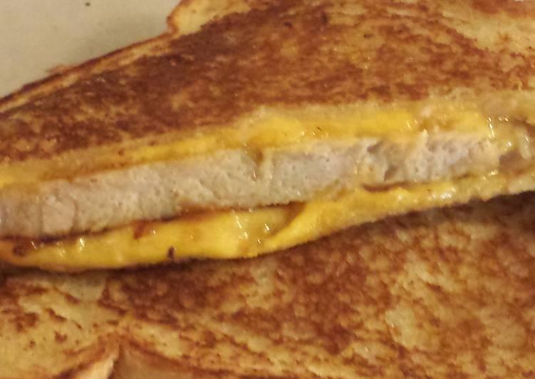 Bbq Pork Loin Grilled Cheese