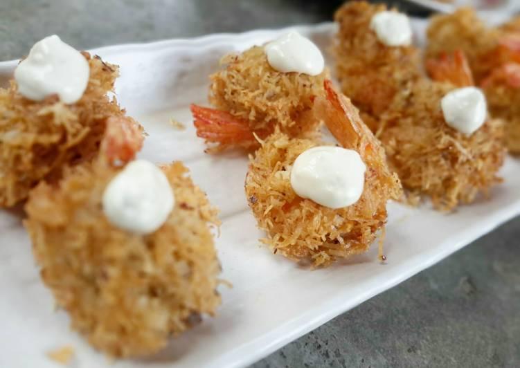Coconut shrimps