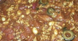 My Chili Recipe (Crock Pot)