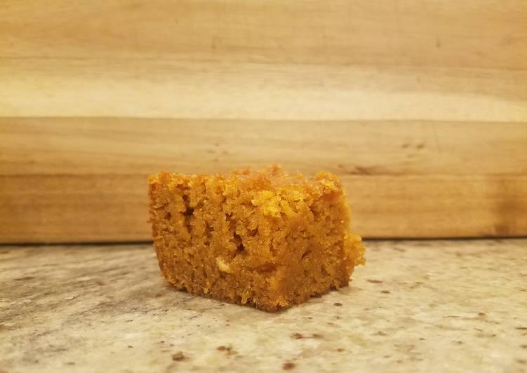 Pumpkin pie bars Gluten-free