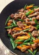 Daging Saus Tiram : daging, tiram, Resep, Tumis, Buncis, Daging, Tiram, Sederhana, Rumahan, Cookpad