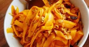 Healthy Carrot / Zucchini Pasta