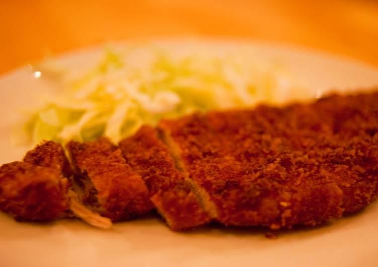 A Straightforward Recipe for Tonkatsu