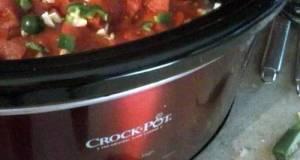 Crockpot Pulled Pork Chili