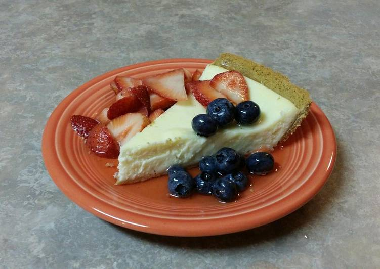 Easy Peasy Cheesecake