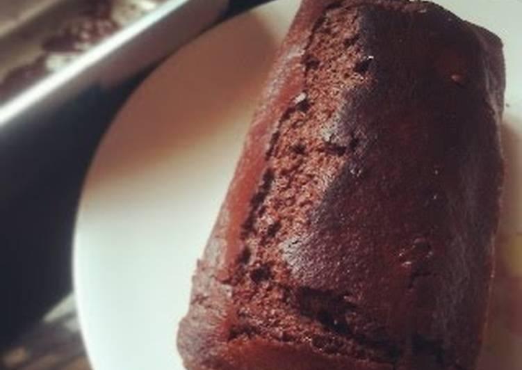 Mini chocolate loaf cake