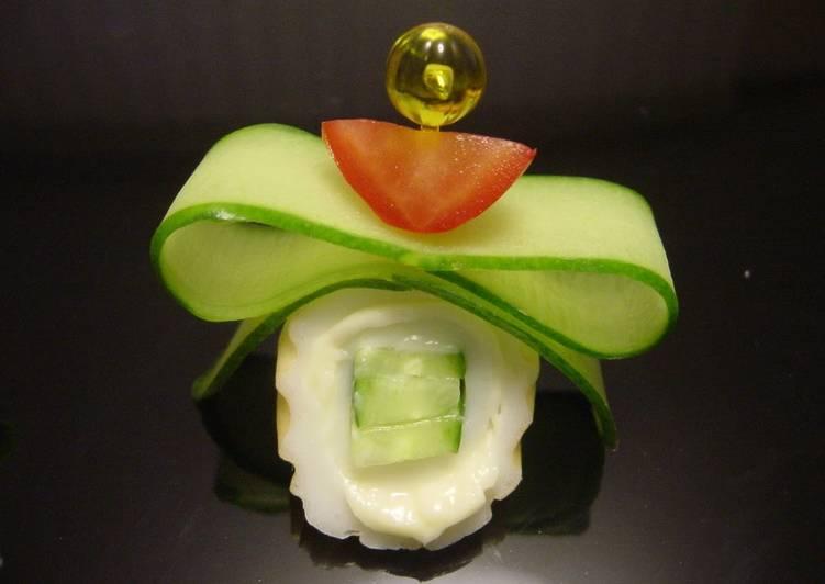 Cucumber Ribbon Pinchos