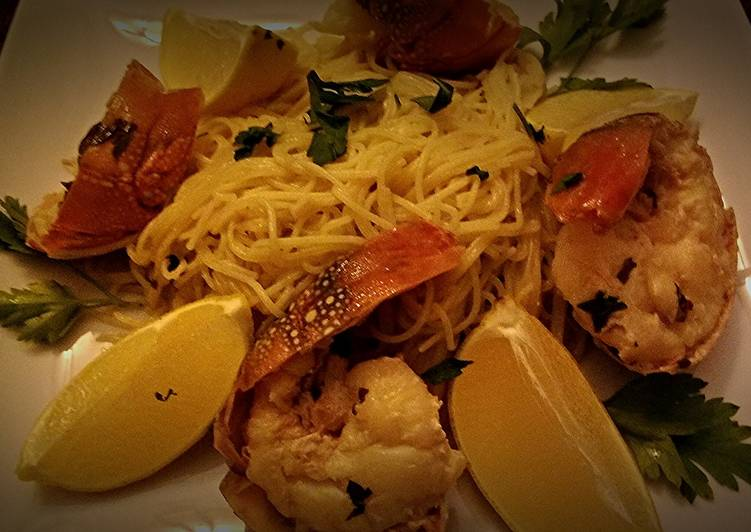 Lobster Scampi With Angel Hair Starter