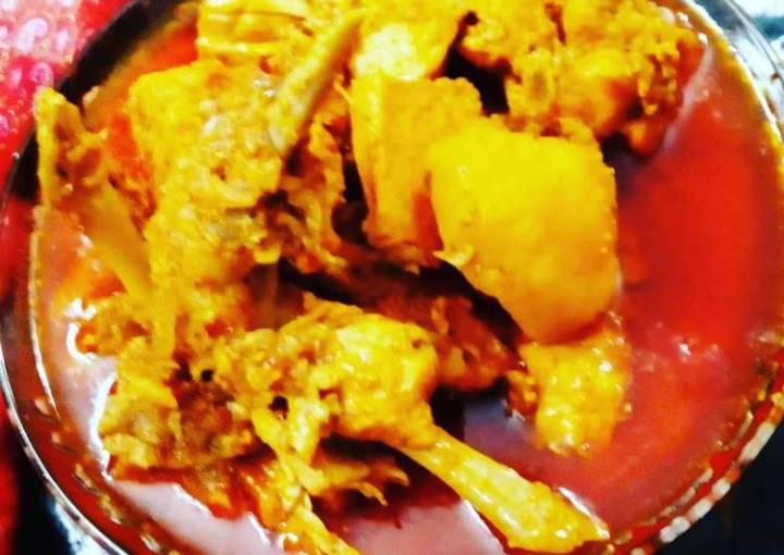 Assamese browler chicken curry
