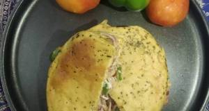 Wheat 🌾flour Fenugreek Flavoured Kulcha Sandwich