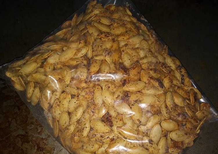 Black Garlic & Ranch Pumpkin Seeds