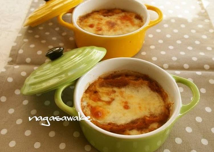 Quick and Easy Onion Gratin Soup