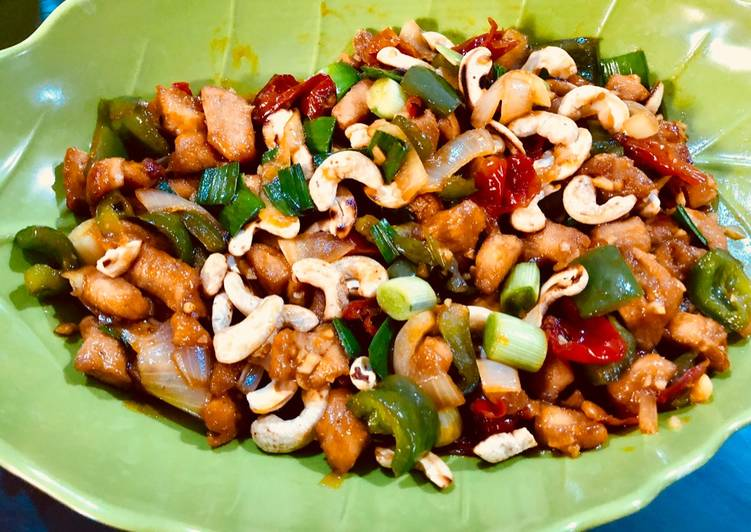Kungpao chicken (ayam kungpao halal)
