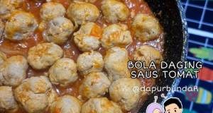 Bola Daging Saus Tomat