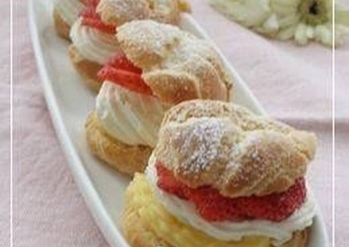 Easy Microwaved Cream Puffs
