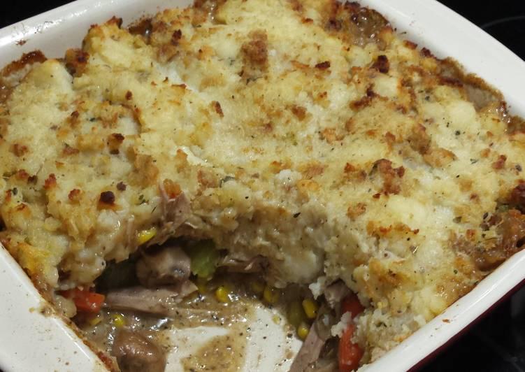 Turkey Pot Shepherd's Pie?