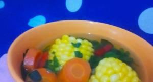 Sayur bening 2 K🍀🌿Katuk&Kelor Campur 🥕🌽#DapoerMmAnnaRohana