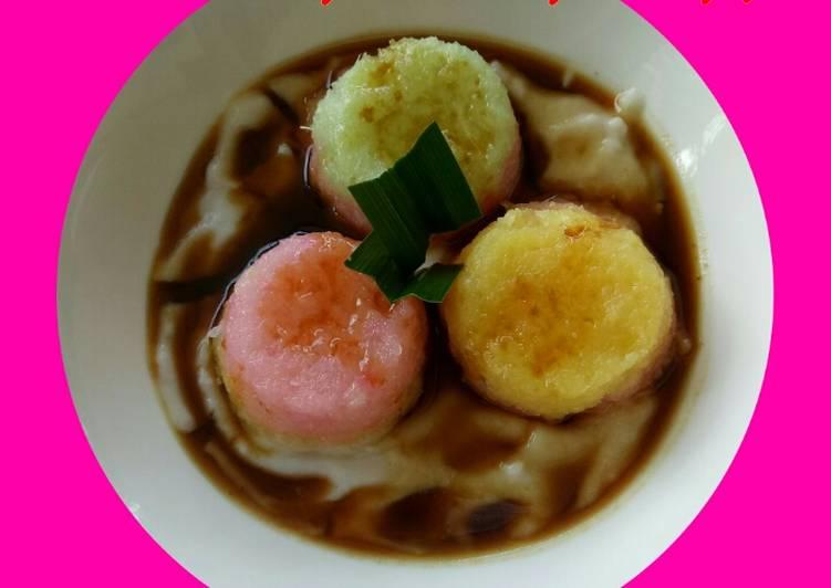 Kue bongko singkong jelita