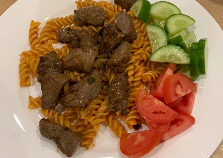 Vietnamese style Beef and Tomato 'Pasta'