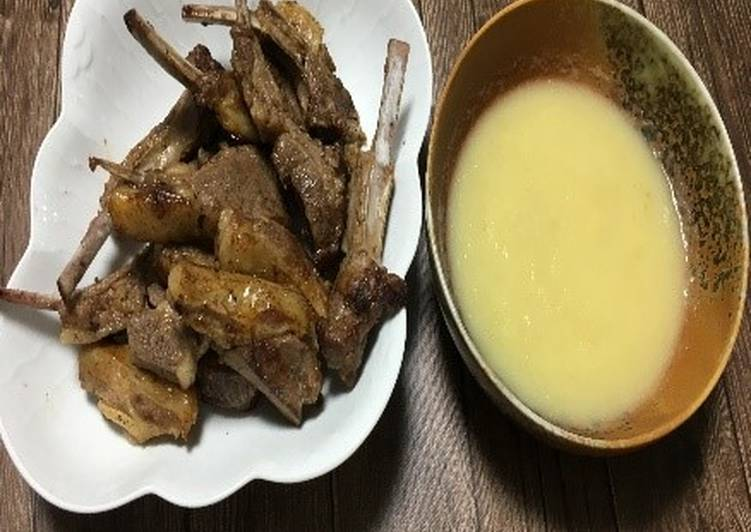 Toyohira Lamb-Chop with Toyohira Apple Sauce