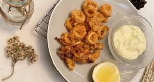 Calamari with tartar sauce