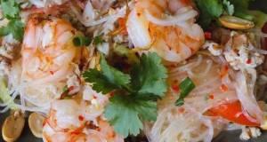 🧑🏽🍳🧑🏼🍳 Thai Salad • Spicy Glass Noodle Salad - Yum Woon Sen   ThaiChef Food