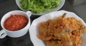 4. Pecel Ayam Kriuk