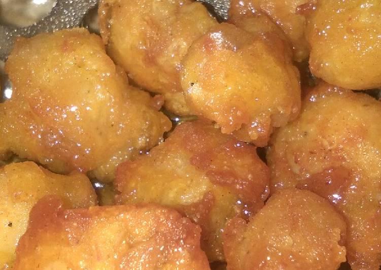 Chicken Honey Pops (Ayam Tepung Madu) enak banget simple