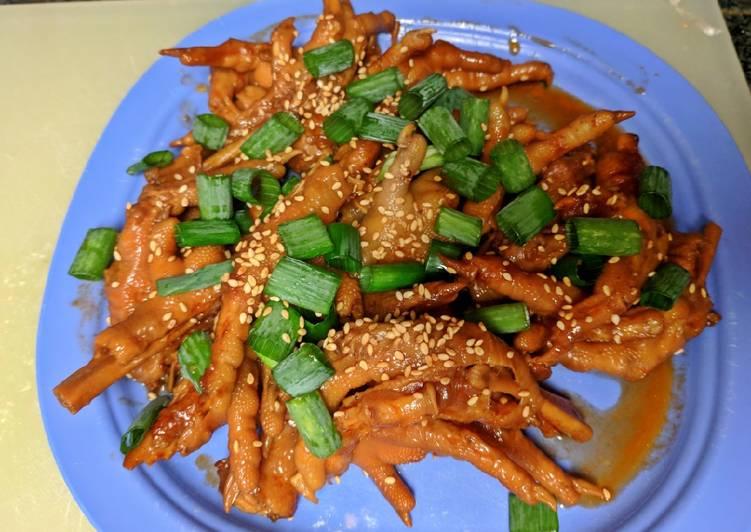 Chicken Paws Korean Style Instant Pot IP