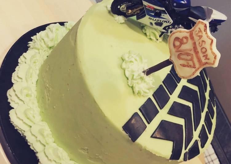Gâteau duo chocolat