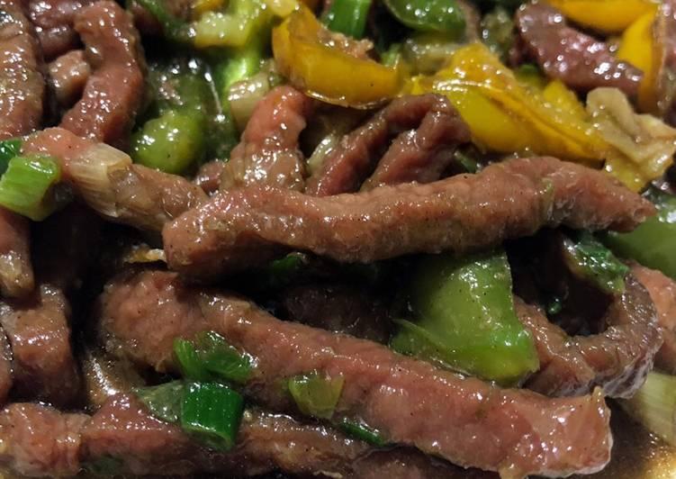 Super Tender Beef Stir Fry