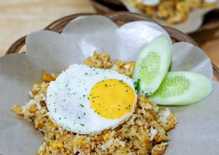 Nasi goreng ikan asin ala ala #homemadebylita